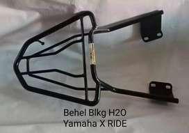 Behel x ride lama model klx trail barang baru