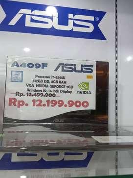 Laptop ASUS processor i7 512 SSD,8GB RAM,VGA NVDIA GEFORCE, bsa kredit