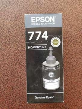 New Epson Pigment Ink T 774 1  Black