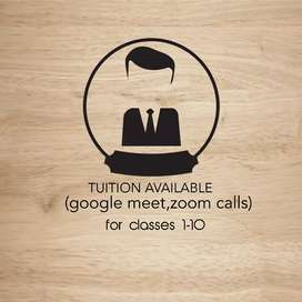 Online tuition for classes 1-10