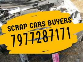 Fully damaged scrap cars buyers n old cars buyers