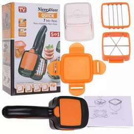 Nicer Dicer 5 in 1 Multi-Cutter Quick Food Fruit Vegetable Cutter