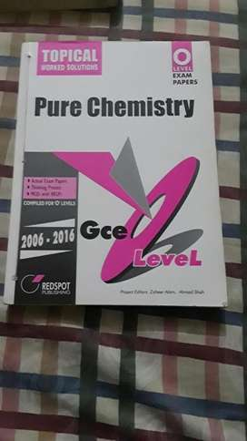 Redspot O level chemistry topical solved past papers(2006-2016)