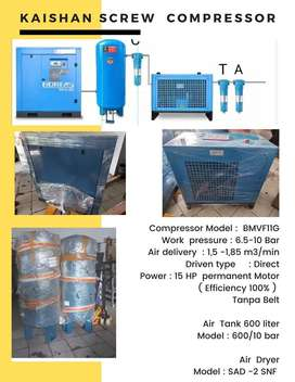 Paket Screw Compressor Kaishan