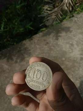 Koin 100 tahun 1973