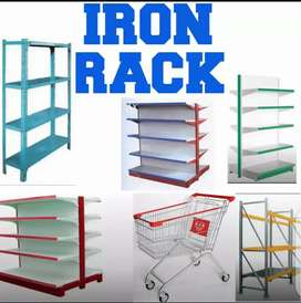 IRON display RACKS,marts and superstores