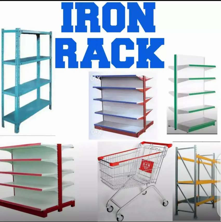 IRON display RACKS,marts and superstores 0