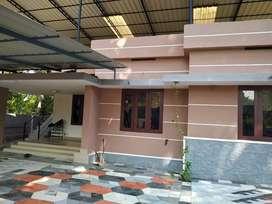 Aluva desham kunnumpuram  2 bhk furnished house for rent.