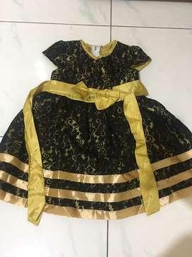 Preloved dress gaun anak 2 tahun