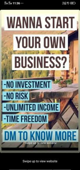 Help you to start your business as a part time