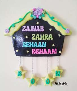 Handmade Customized Door/wall Hanging