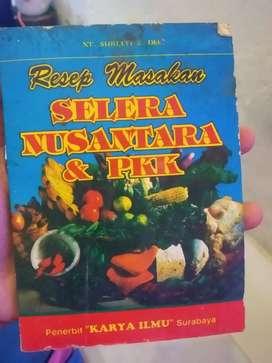 Buku resep masakan selera nusantara & pkk