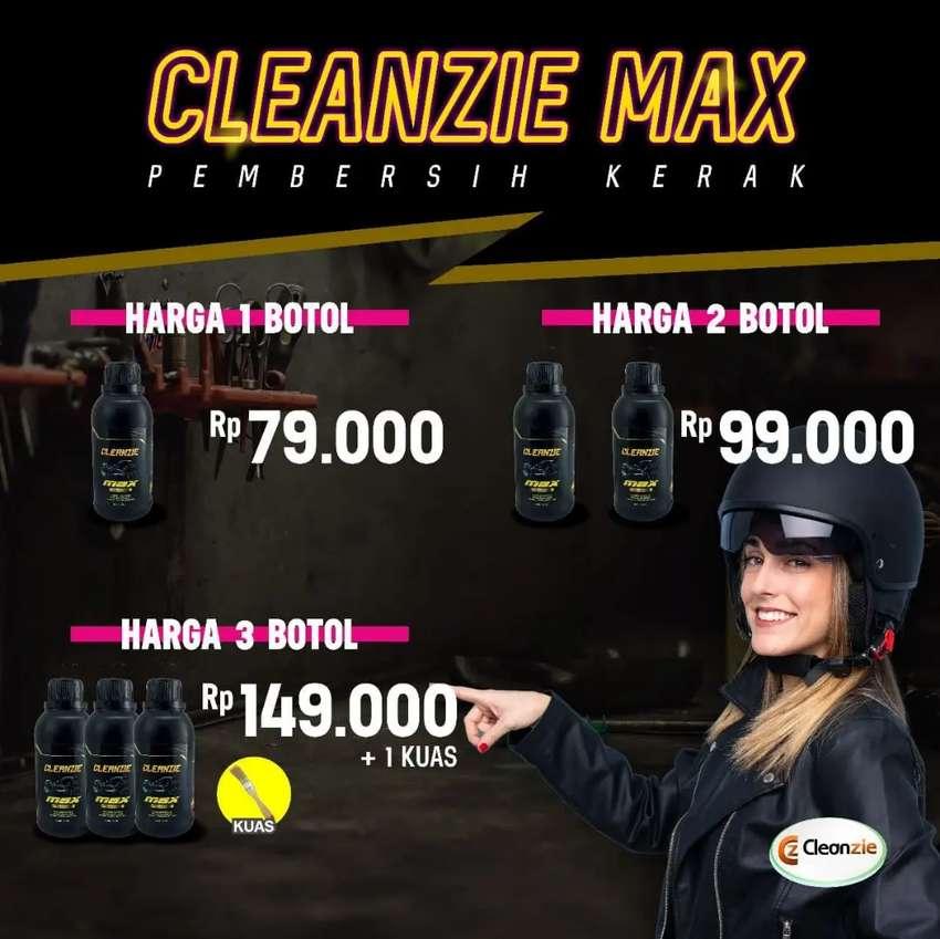 CLEANZIE POWER MAX - Bersihkan kerak pada kendaraan anda