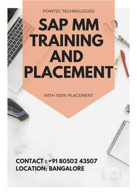 SAP MM Training and placements