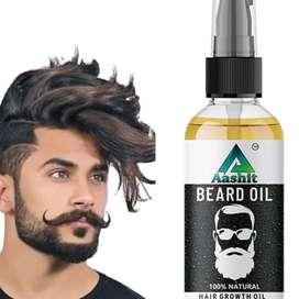 Aashit beard hair growth oil