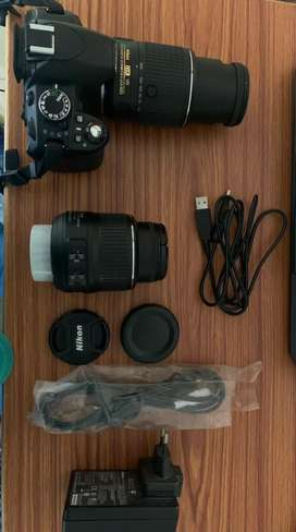 Nikon D3100 With additional lens(55-200mm)