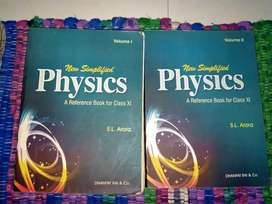 S.L Arora Physics Volume 1 and 2