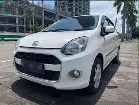 Daihatsu Ayla X MT Manual Nik 2016 Putih KM 25000 Antik!