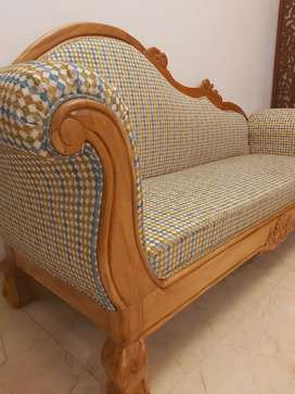 Pure teakwoon royal couch at cheapest price each