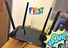 Internet FIRSTMEDIA Gratis Pemasangan