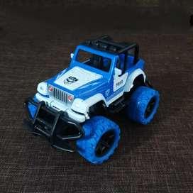 Mainan Anak RC Jeep Police Car