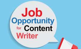 Content writer and voice over artisit