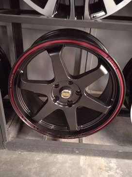 Velg te37 R18 bisa untuk mobil voxy xpander innova sportage luxio