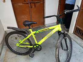 It is a biycycle