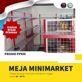 Jual baru murah rak minimarket gondola promo