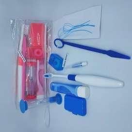 Sikat gigi Ortho behel Kit paket lengkap