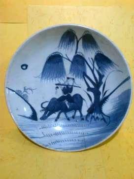Piring antik dinasti ming zaman Majapahit