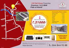 King Size 1 BHk at affordable rate @ Alandi
