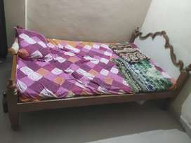 Double bed with good condition