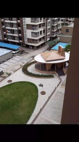 Pramukh Green,  chala,  Garden face 2 Bhk flat for sell. Higher floor