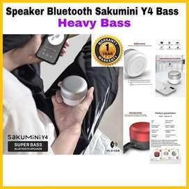 Speaker Bluetooth Sakumini Y4 Heavy Bass