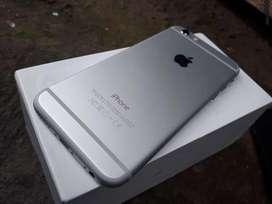 iphone 6 128gb silver fullset ori murah