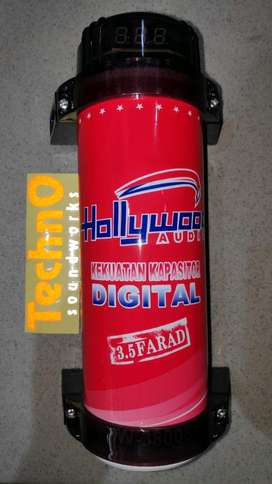 Capasitor kapasitor bank 3 farad hollywood mobil paket audio sound
