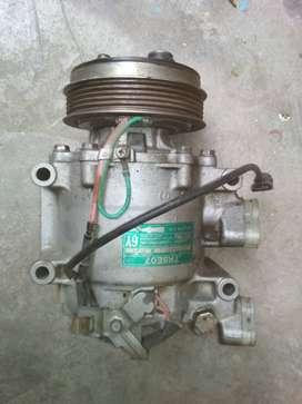 honda city brio amaze jazz zx crv brv  accord  ac compressor used i10