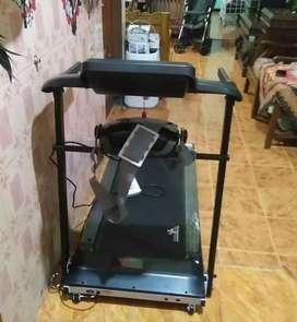 Treadmill elektrik newsporty massage kasembon