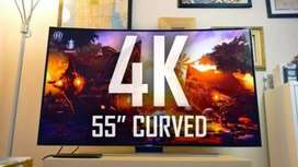 "55"" curved led tv new wholesale price 95746O1951"