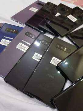Galaxy Note 8 dual SIM very Miner dot only black colour and PTA prove