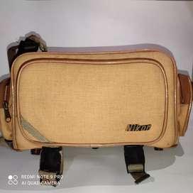 Tas Kamera Dslr Nikon Classic klasik cokelat koleksi