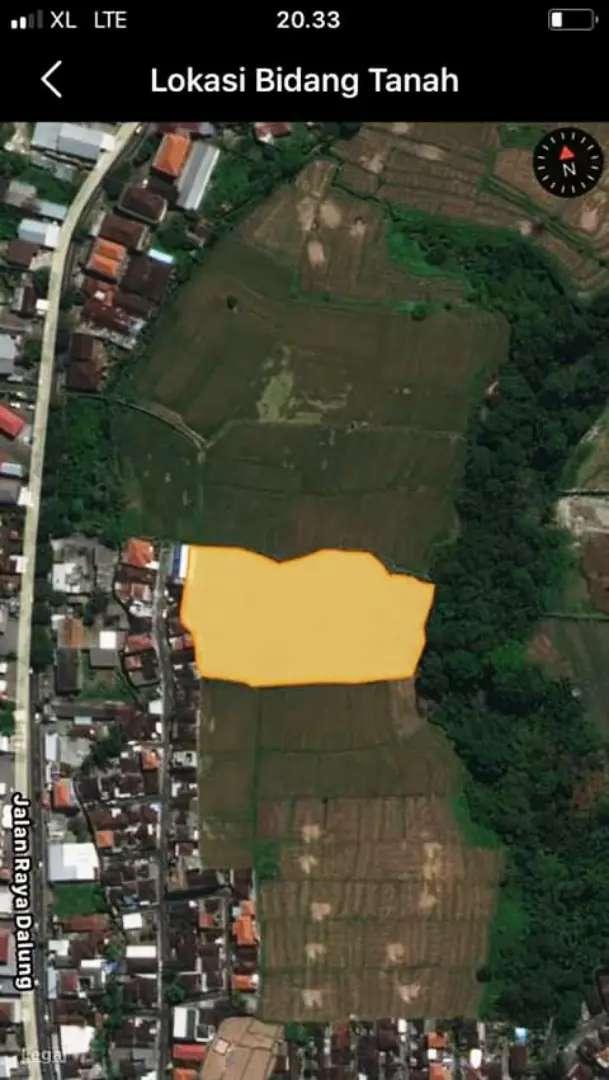 Jual Tanah 66are Harga 240J/Are di Dalung Kuta Utara 0