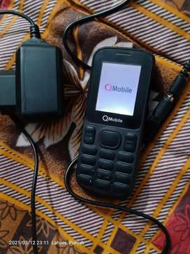 Q Mobile with original Nokia battery very good condition