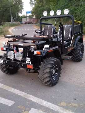 New modified open Jeep