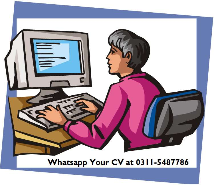 Computer Operator Required At Bahria Phase 7 0