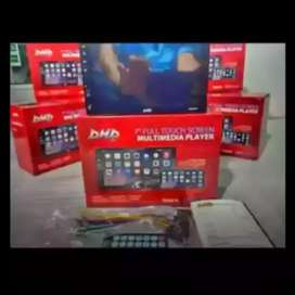 TERBARU dhd 2din layar datar 7inc fulglass bisa bluetooth+camera hd