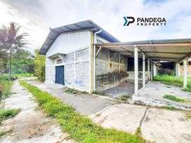 Dijual Gudang Jalan Kaliurang Km 14 Dekat Outer Ringroad, dekat UII