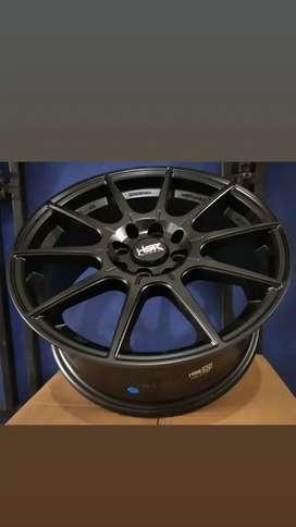Velg Mobil Racing R16x7 Hsr Original Rai S2 Matte black