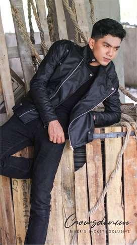 Jaket Kulit - Jaket keren - Jaket korean - Jaket murah - Jaket pria